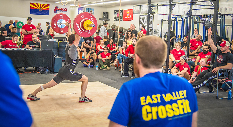 Weightlifting Competition at East Valley CrossFit