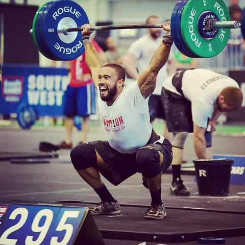Iron Athlete Adrian Conway Competing In The CrossFit Southwest Regional Competition