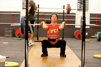 Iron Athlete Weightlifting Coach Becky Vasey