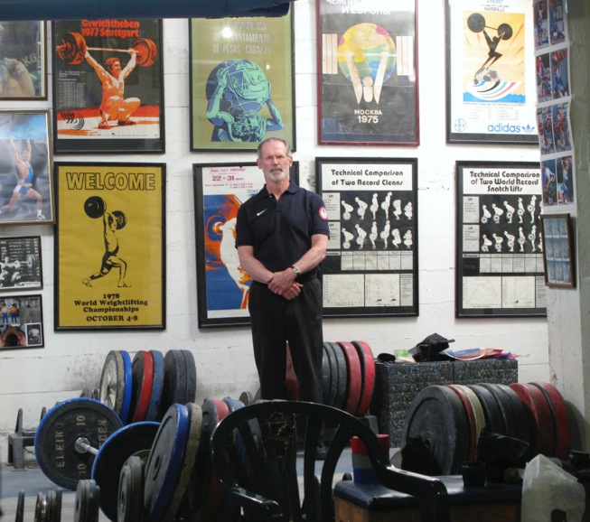 Weightlifting Coach Jim Schmitz