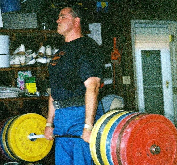 Weightlifting Coach Tim Swords Training His Olympics Lifts