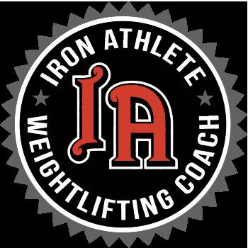 Iron Athlete Weightlifting Coaches Cert By Matt Foreman
