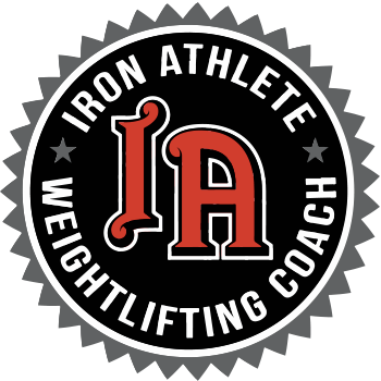 Iron Athlete Weightlifting Coaches Cert