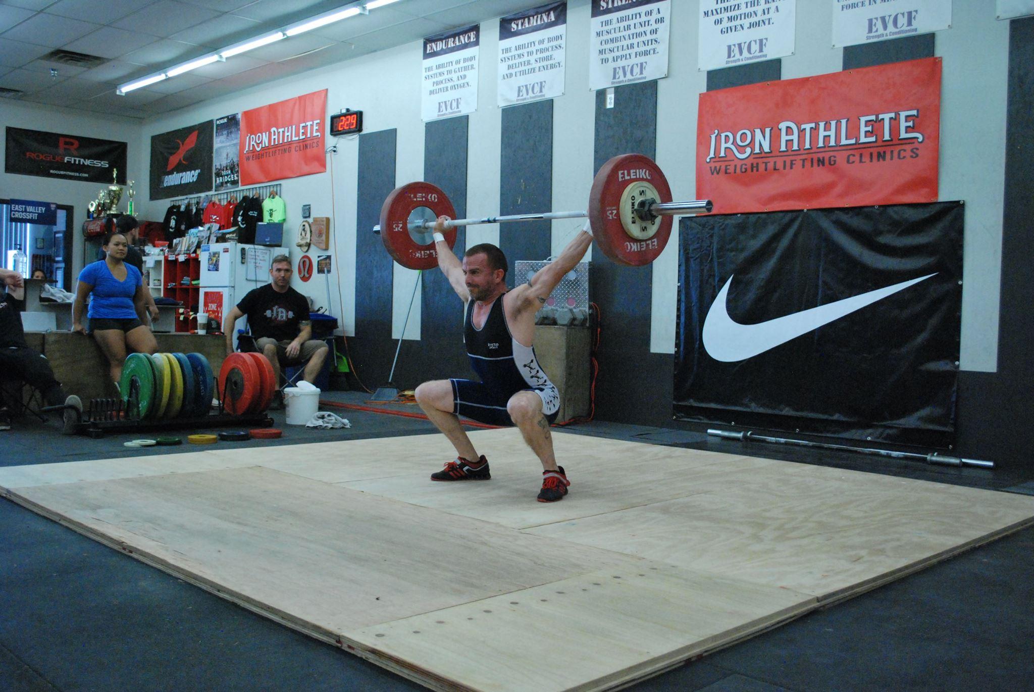 Iron Athlete Open Men's Snatch