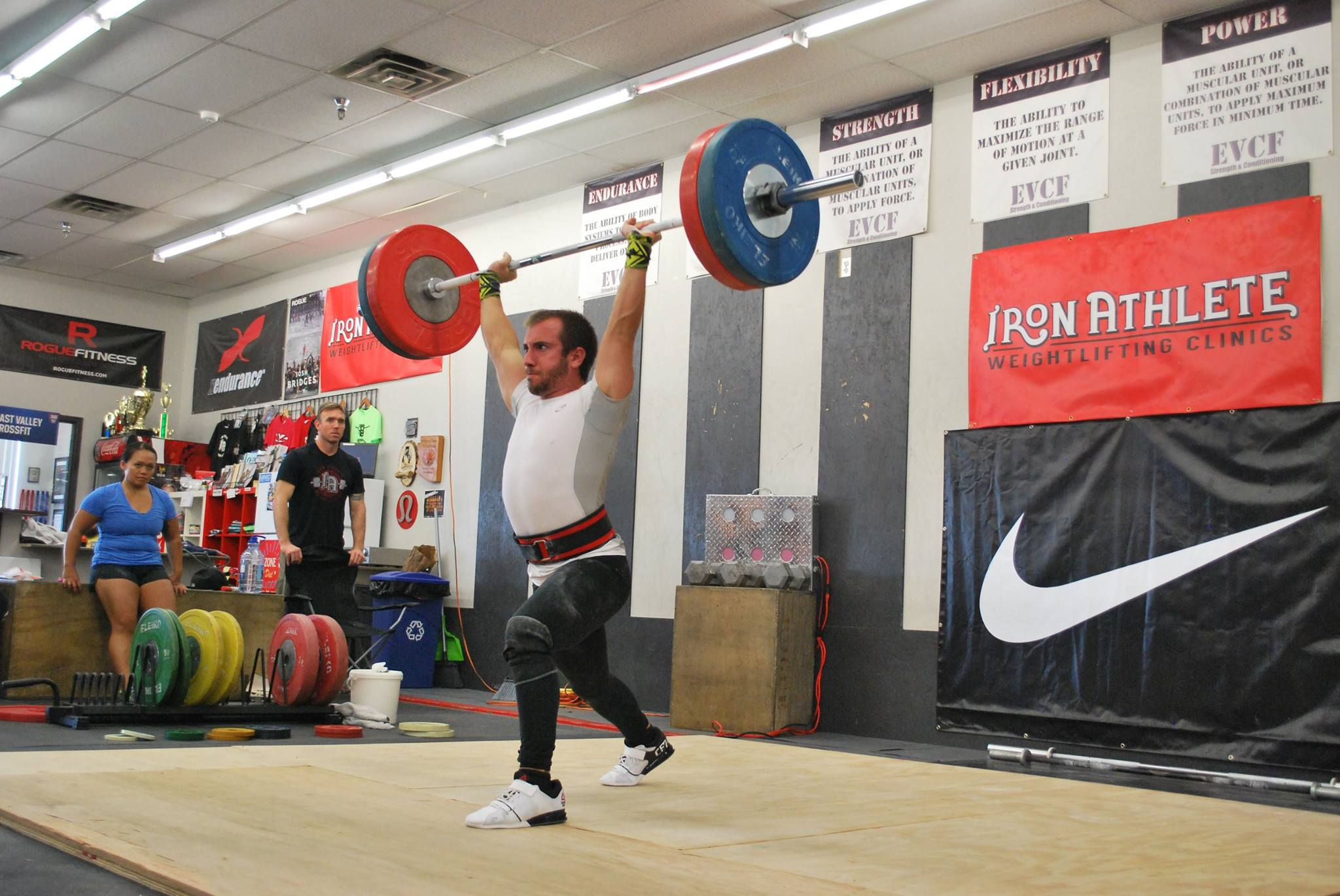 Iron Athlete October Open Mens Clean And Jerk