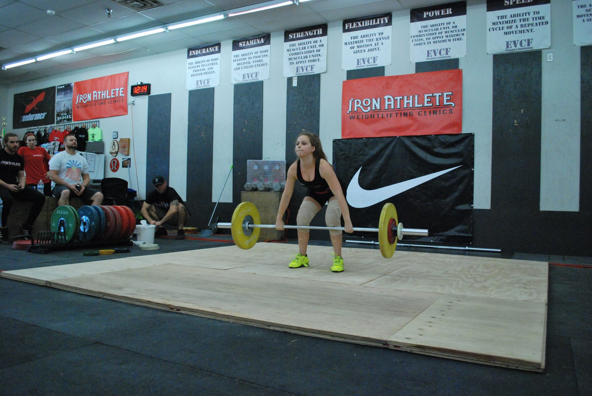 Iron Athlete October Open Women's Clean And Jerk