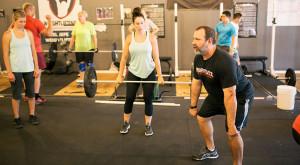 Matt Foreman Coaching a Weightlifting Clinic