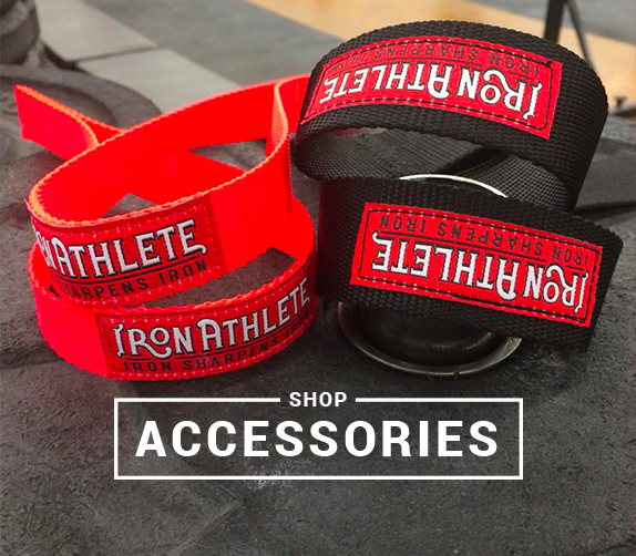 Shop Iron Athlete Accessories like Weightlifting Gear