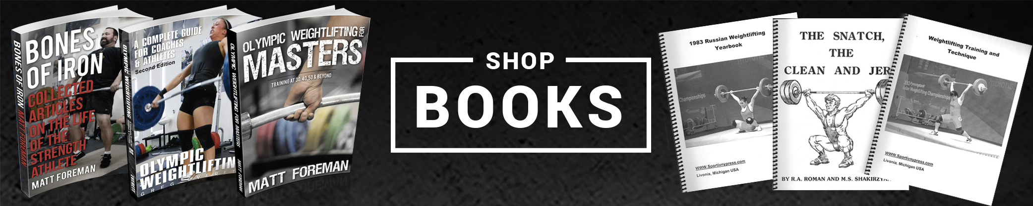 Shop Iron Athlete's Large Selection of Books and Educational Resources