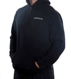 Black Iron Athlete Hoodie