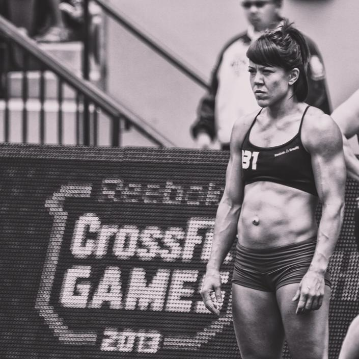 CrossFit Competitor And Gymnastics Coach Tiffany Hendrickson Competing At The CrossFit Games
