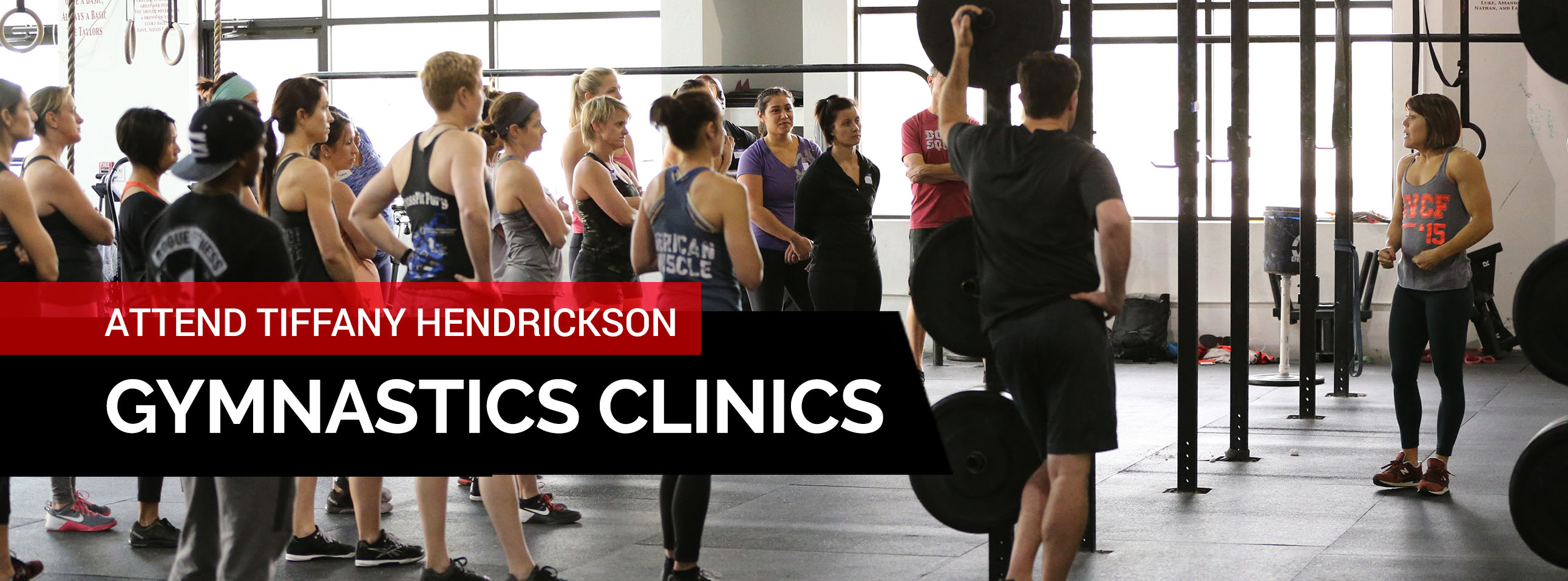 Tiffany Hendrickson Coaching Iron Athlete Gymnastics Clinics