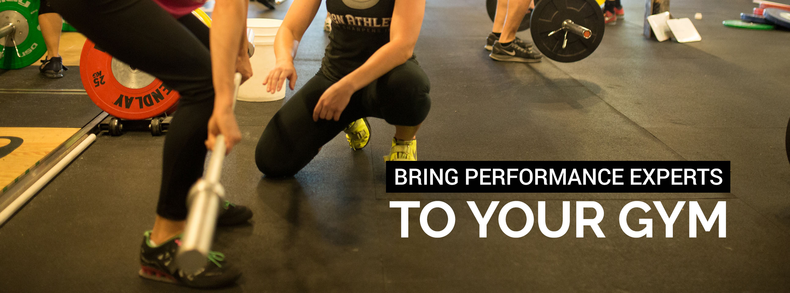 Iron Athlete Brings Performance Experts to You