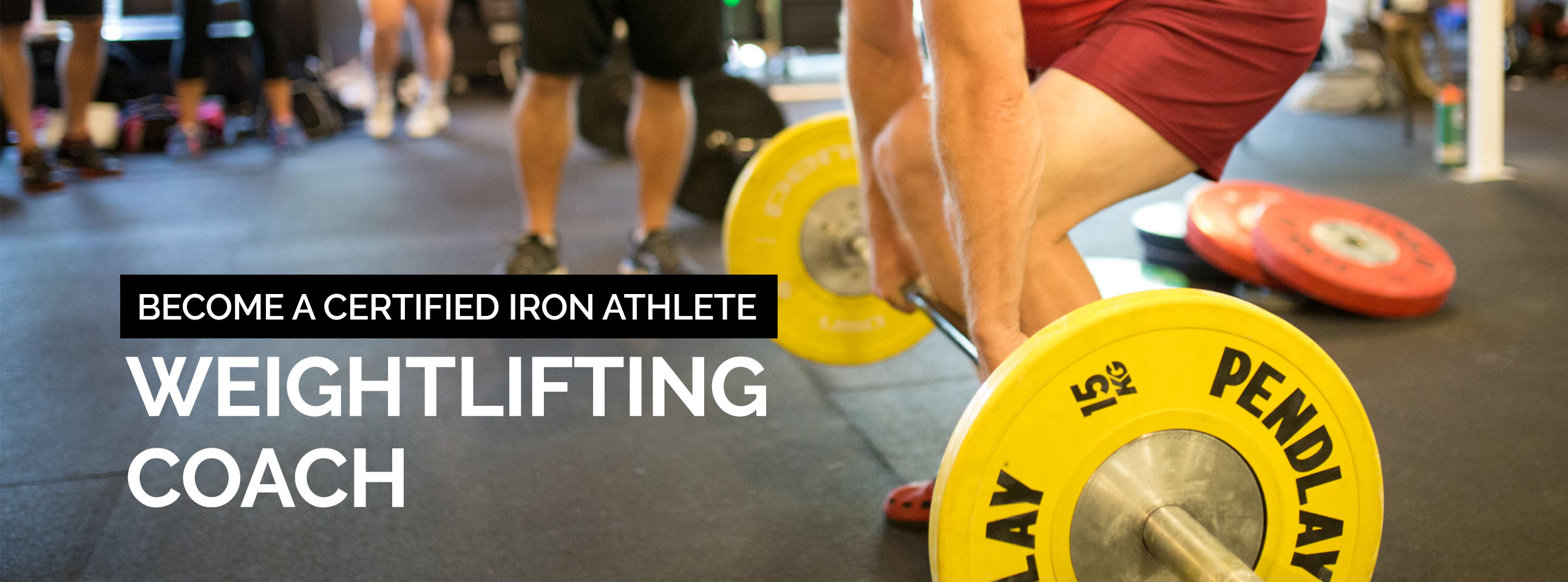Iron Athlete Weightlifting Coach