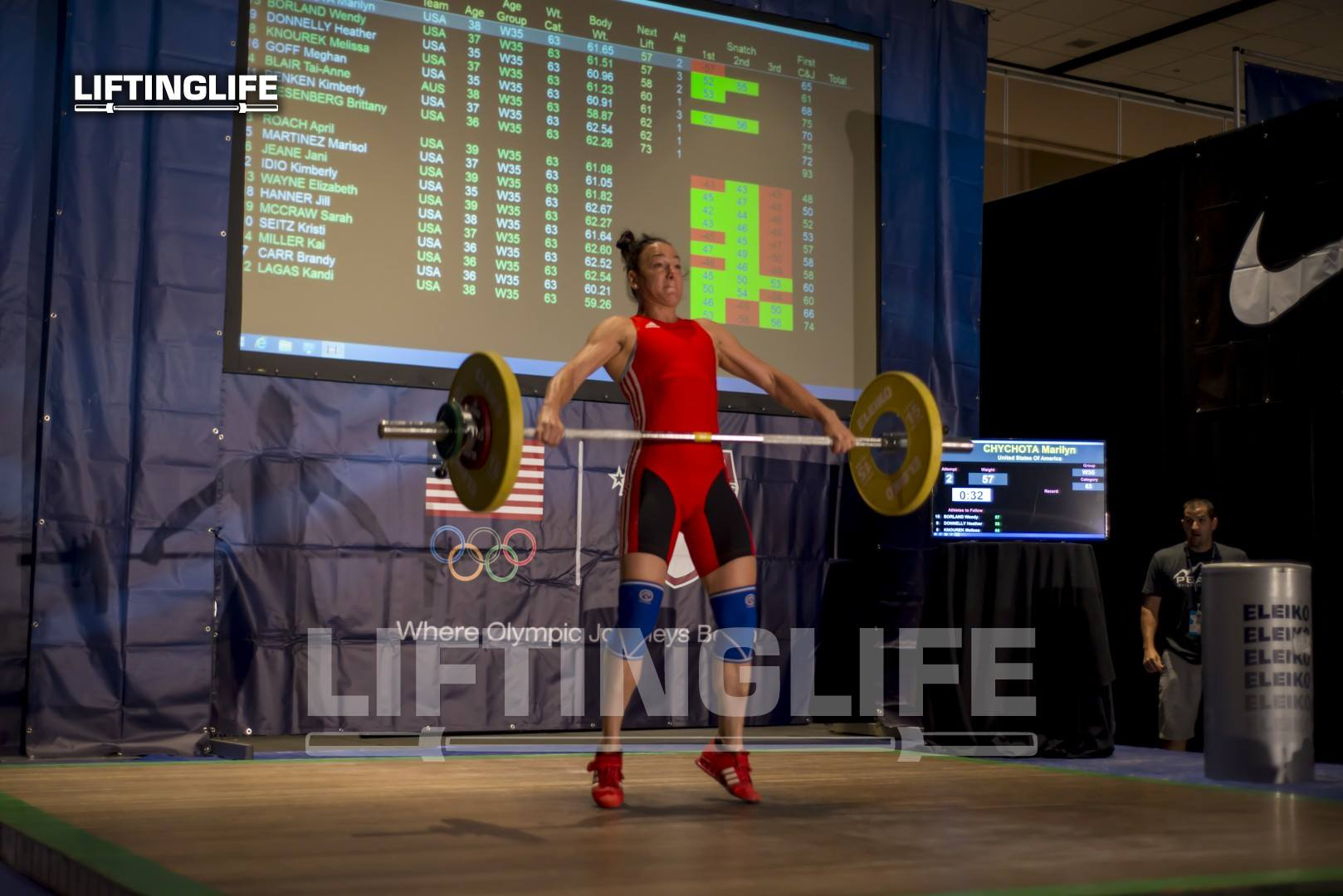 Marilyn Chychota Weightlifting