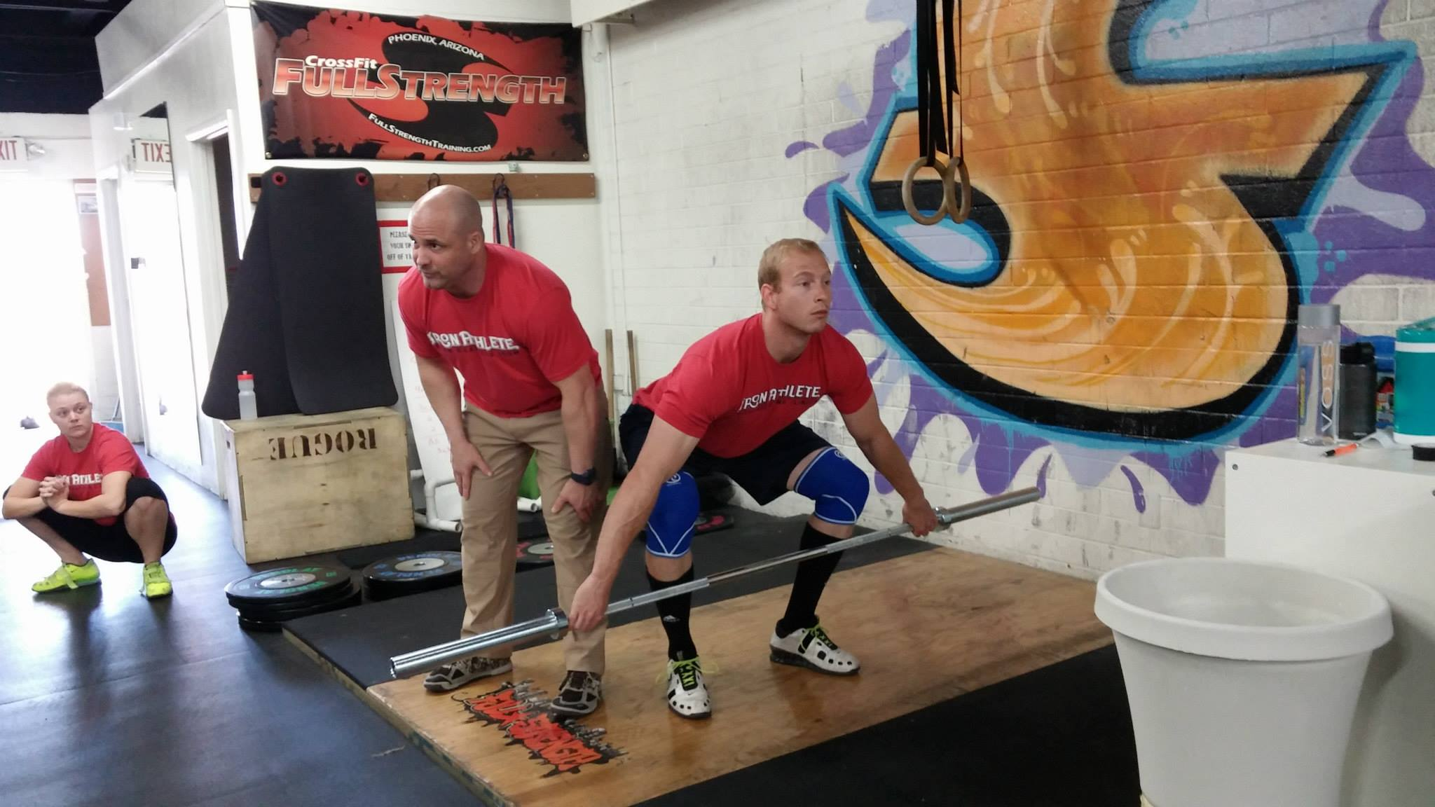 Iron Athlete Weightlifting Clinic Taught By August Schmidt