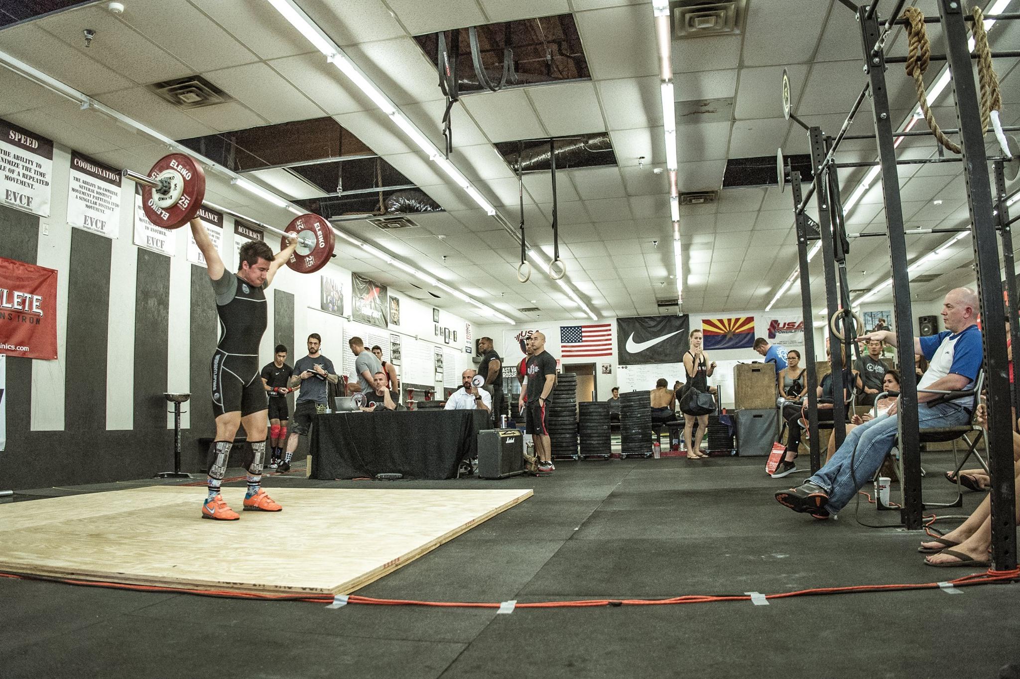 Iron Athlete Winter Open Weightlifting Meet