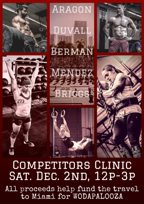 Iron Athlete Competitors Clinic