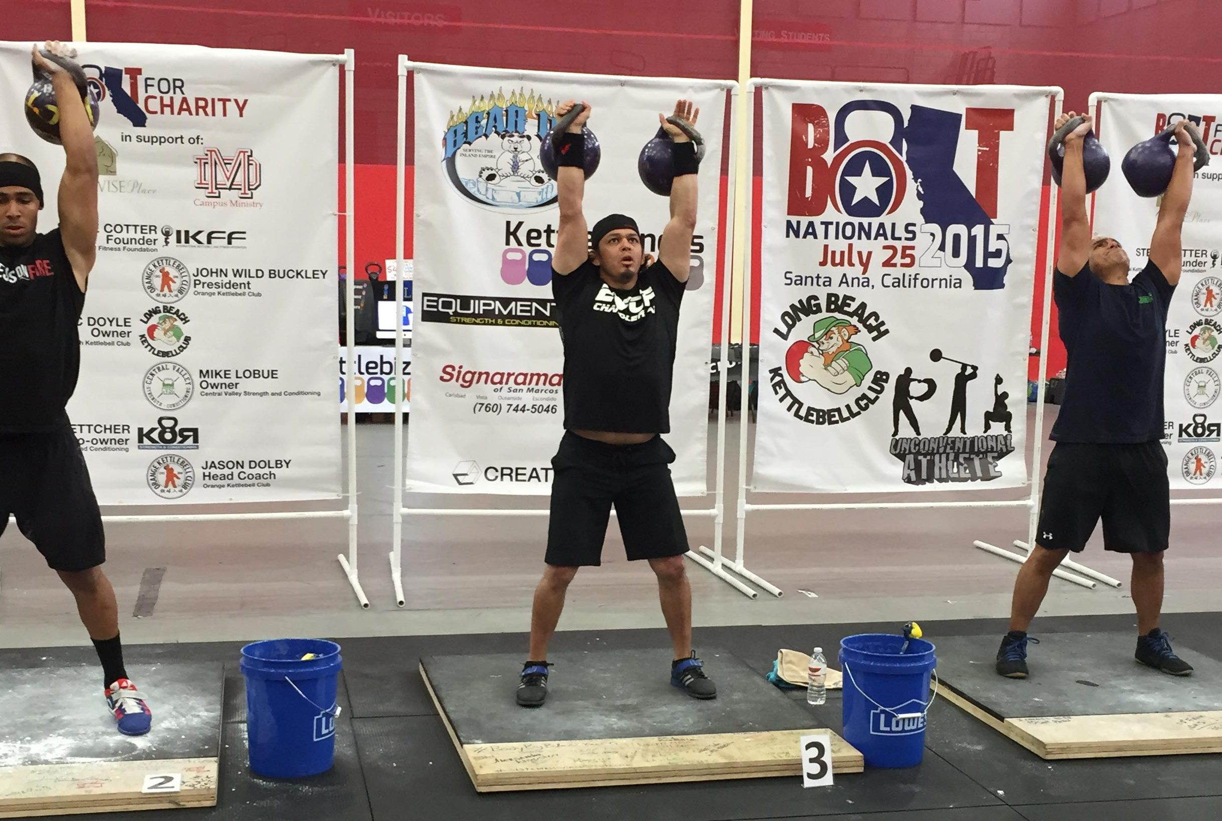 Iron Athlete Kettlebell Clinic With Charlie Molina