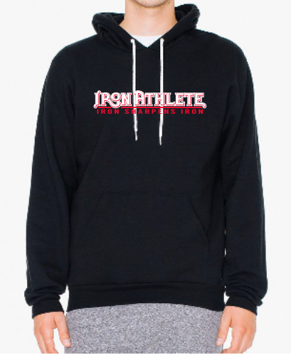 NEW! Black Iron Athlete Hoodie (American Apparel)