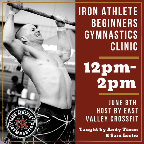 Beginners Gymnastics Clinic Taught By Andy Timm & Sam Leehe