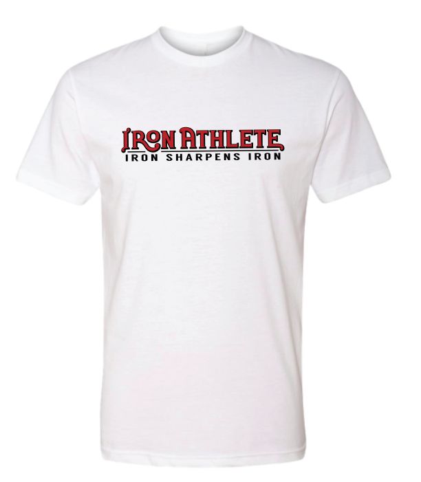 New! White Trademark Logo T-Shirt