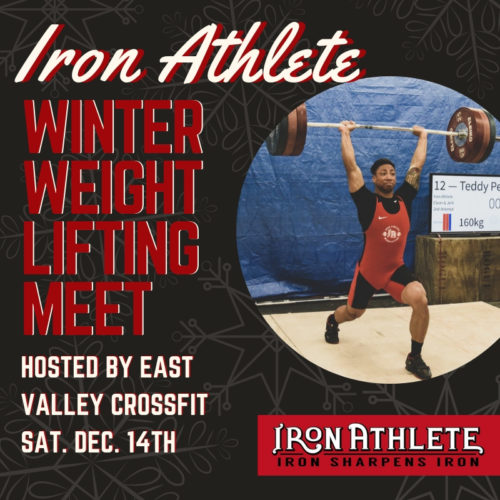 Iron Athlete Winter Weightlifting Meet