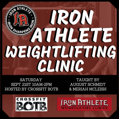 IA Weightlifting Clinic At BOTB