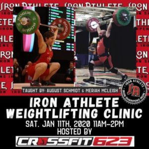 Iron Athlete Weightlifting Clinic Hosted By CrossFit 623