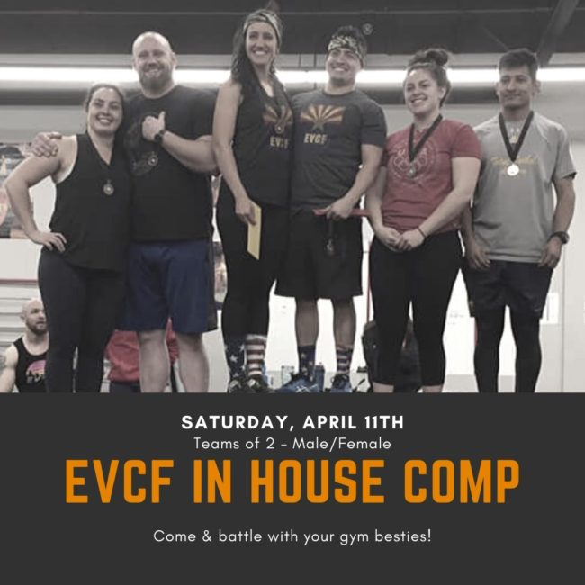 EVCF In House Competition