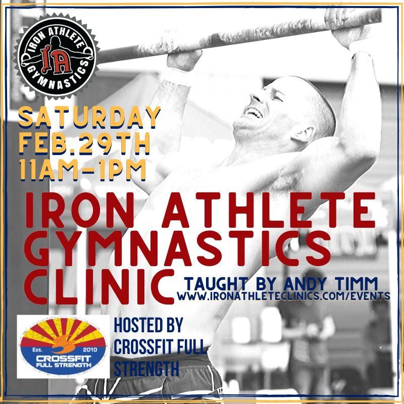 IA Gymnastics Clinic At CrossFit Full Strength
