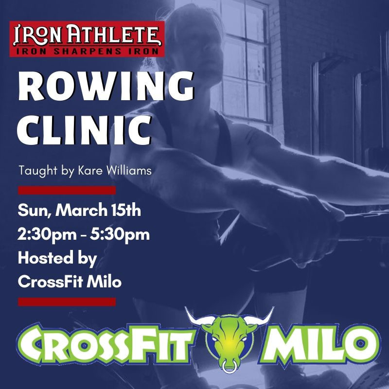 Iron Athlete Rowing Clinic Taught By Kare Williams