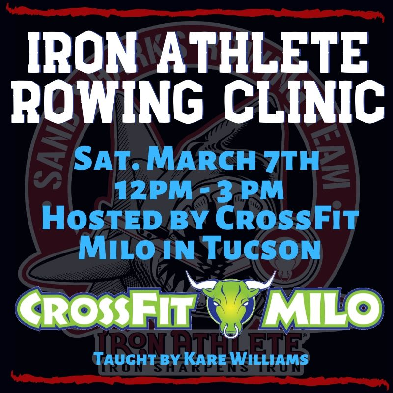 Iron Athlete Rowing Clinic At CF Milo