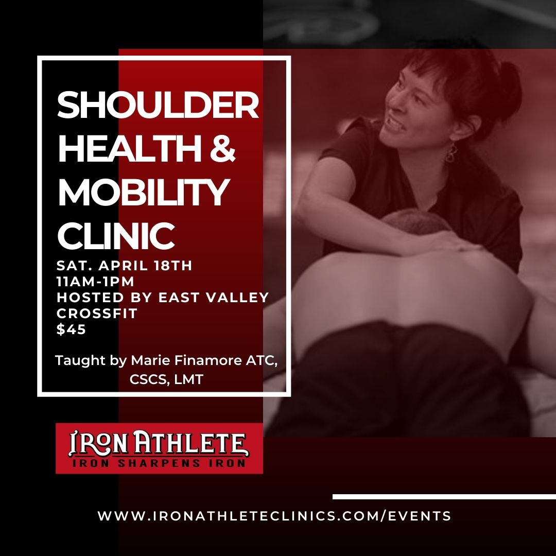 Iron Athlete Shoulder Health And Mobility