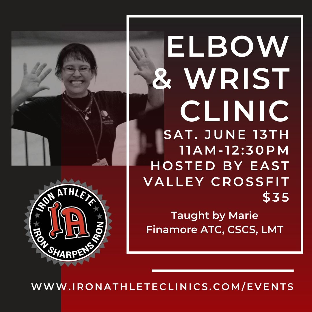 Iron Athlete Elbow & Wrist Clinic